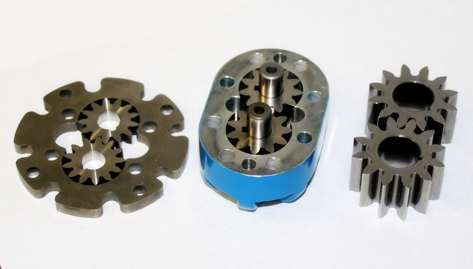 powdered metal pump gears